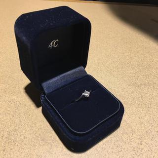 ヨンドシー(4℃)の4℃ 婚約指輪 (新品、未使用)(リング(指輪))
