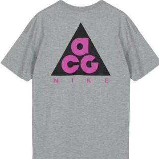 ナイキ(NIKE)のXL NIKE ACG Tシャツ 旧ロゴ グレー(Tシャツ/カットソー(半袖/袖なし))