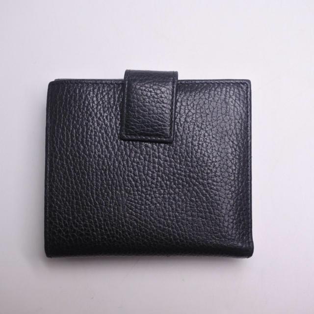 low priced e5426 c9b96 Gucci - GUCCI グッチ マーモント 三つ折り財布 ブラック ...