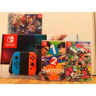 ニンテンドースイッチ(Nintendo Switch)の【保証付‼️】任天堂 スイッチ ソフト3本 セット‼️(家庭用ゲーム本体)