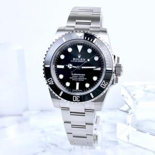 ロレックス(ROLEX)の未使用 ロレックス サブマリーナ ブラックサブ ギャラ付 メンズ 腕時計(腕時計(アナログ))