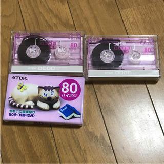 ティーディーケイ(TDK)のカセットテープ3本(その他)