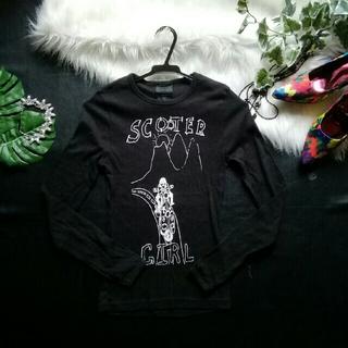 アナスイ(ANNA SUI)の♪アナスイ♪ロゴプリント♡ロングTシャツ♪(Tシャツ(長袖/七分))