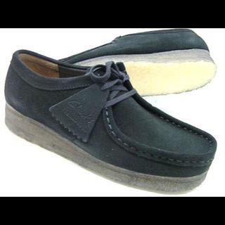 クラークス(Clarks)のクラークスワラビー 黒 25.5箱無(ローファー/革靴)