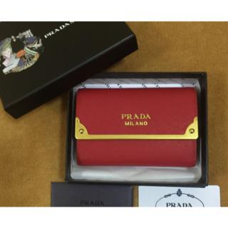 プラダ(PRADA)のプラダ 二つ折財布(財布)