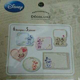 Disney - ミッキー&ミニー アルバム・スクラップ・寄せ書き用タイトルカード