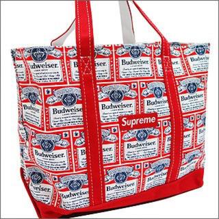 シュプリーム(Supreme)の09SS Supreme Budweiser Canvas Tote Bag (トートバッグ)