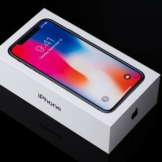 アイフォーン(iPhone)の交換品 新品未開封 au iPhone X 256GB  SIMロック解除済(携帯電話本体)