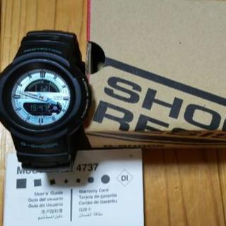 ジーショック(G-SHOCK)のAW-582TM-2A(モジュールナンバー 4737)&箱 &海外用取扱説明書(腕時計(デジタル))