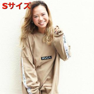 ルーカ(RVCA)のRVCA新品未使用ベージュSサイズ(Tシャツ/カットソー(七分/長袖))