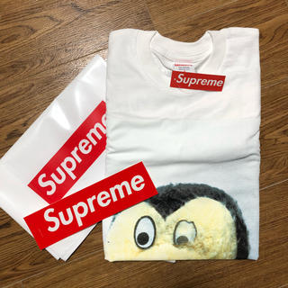 シュプリーム(Supreme)のsupreme Mike Kelley L/S Tee 白 S ロンT(Tシャツ/カットソー(七分/長袖))