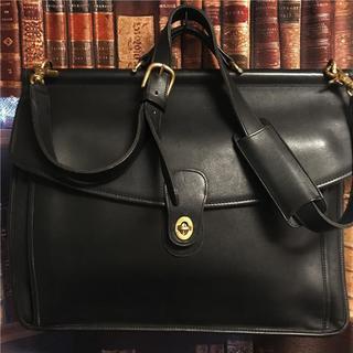 コーチ(COACH)の綺麗め OLD COACH約10万 2wayグローブレザービジネスバッグ(ビジネスバッグ)