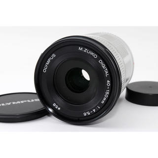 オリンパス(OLYMPUS)の★オリンパスミラーレス用望遠★M.ZUIKO 40-150mm シルバー(レンズ(ズーム))