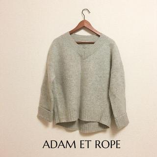 アダムエロぺ(Adam et Rope')のアダムエロペウールニット(ニット/セーター)