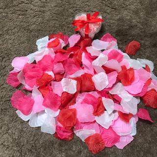 造花 花びら かざり(ウェルカムボード)