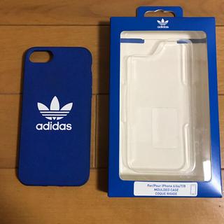 アディダス(adidas)のアディダス  iPhoneケース 8/7/6用 adidas(iPhoneケース)