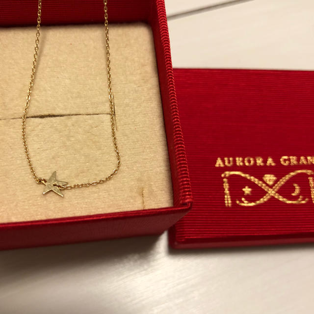 AURORA GRAN(オーロラグラン)のオーロラグラン メイクアウィッシュネックレス K18YG レディースのアクセサリー(ネックレス)の商品写真
