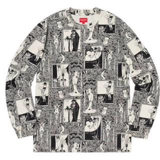 シュプリーム(Supreme)のSUPREME 黒 Salome L/S TEE (Tシャツ/カットソー(七分/長袖))