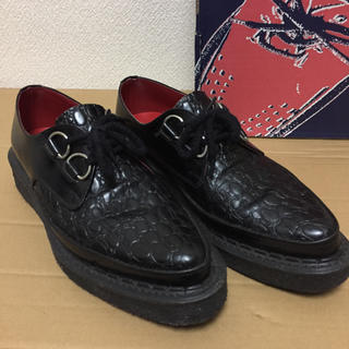 ジョージコックス(GEORGE COX)の【定価¥51840】日本別注^ジョージコックスUK8の13012ブラック(ブーツ)