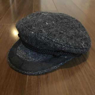 ニューヨークハット(NEW YORK HAT)のニューヨークハット キャスケット マリンキャップ ツイード(キャスケット)