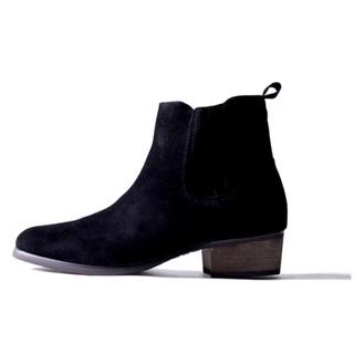 ダブル(DOWBL)のDOWBL サイドコアブーツ ブラック M(ブーツ)