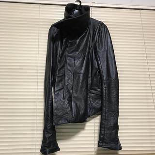 エカム(EKAM)のEKAM 062 ライダース ジャケット ラムレザー エカム モード 本革(ライダースジャケット)