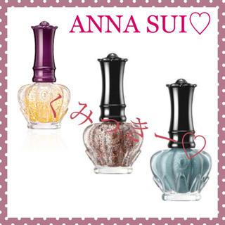 アナスイ(ANNA SUI)のネイルカラー&オリジナルヘアーバンド🌺(マニキュア)