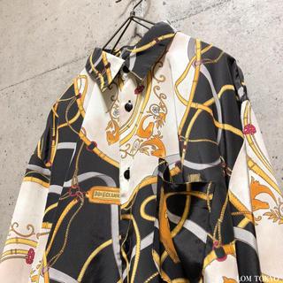 [used]retro art design shirt.(シャツ)