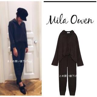 Mila Owen - ミラオーウェン ♡シャツニットセットアップ