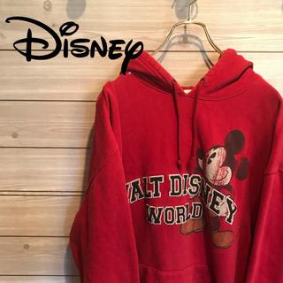 ディズニー(Disney)の古着 80s ディズニー ミッキーマウス ウォルトディズニーワールド パーカー(パーカー)