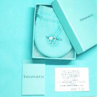 Tiffany & Co. - 未使用 ティファニー ハートフラワー クローバーネックレス
