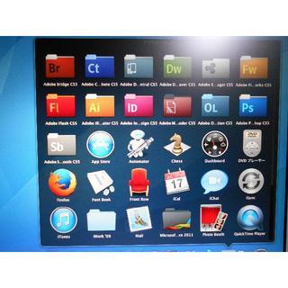 マック(Mac (Apple))のMacBook Pro Office+CS5,15インチSSD■新品バッテリー(ノートPC)