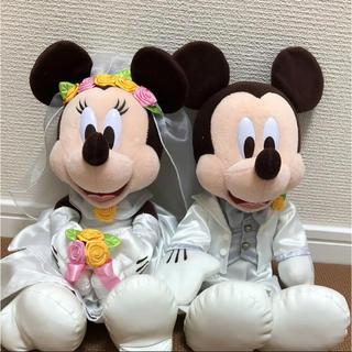ディズニー(Disney)のウェディング ぬいぐるみ(ぬいぐるみ)