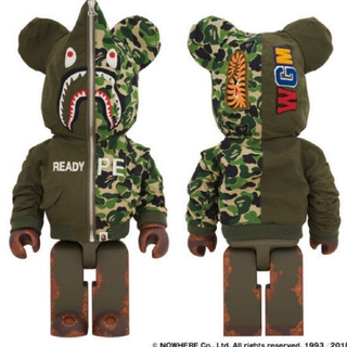 A BATHING APE - 手元有!即発送!READYMADE x A BATHING APE  1000%