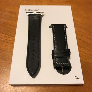 アップルウォッチ(Apple Watch)のApple watch 42 44対応モデル 本革バンド(腕時計(デジタル))