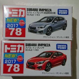 Takara Tomy - 未開封 初回限定+通常 トミカ インプレッサ インプレッサスポーツ