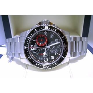 ロンジン(LONGINES)のハイドロコンクエスト・クロノグラフ・300m防水ダイバー・SSブレス(腕時計(アナログ))