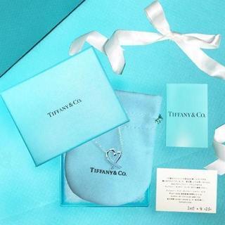 Tiffany & Co. - 未使用 ティファニー ラビング ハート ペンダント