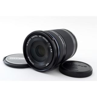 オリンパス(OLYMPUS)の★PENシリーズ用望遠レンズ★M.ZUIKO 40-150mm R ブラック(レンズ(ズーム))