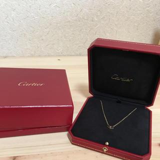 Cartier - カルティエ ピンクサファイア シーハート  ネックレス  cartier