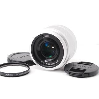 パナソニック(Panasonic)の❤️インスタ映えに最適なボケ味❤️Panasonic LUMIX 25mm(レンズ(単焦点))