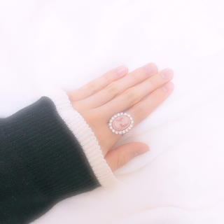 ハンドメイド 指輪 カメオ