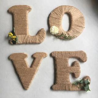 LOVEオブジェ(ウェルカムボード)