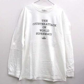 シュプリーム(Supreme)のSupreme x UC x PE Counterattack L/S 白M(Tシャツ/カットソー(七分/長袖))