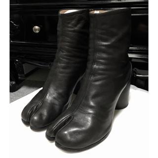 マルタンマルジェラ(Maison Martin Margiela)の1日限定値下げ Maison Margiela 足袋ブーツ tabi 黒(ブーツ)