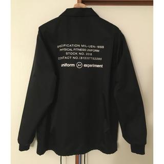 ユニフォームエクスペリメント(uniform experiment)の新品 Uniform experiment big coach blouson (ブルゾン)