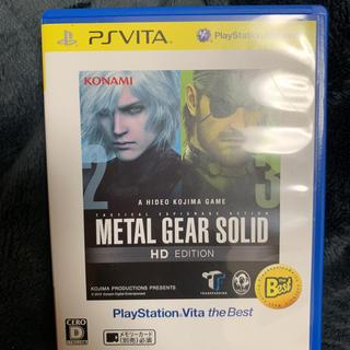 プレイステーションヴィータ(PlayStation Vita)のメタルギアソリット(携帯用ゲームソフト)