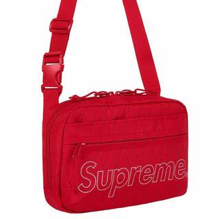 シュプリーム(Supreme)の【Red】Supreme Shoulder Bag ショルダーバッグ ショルダー(ショルダーバッグ)