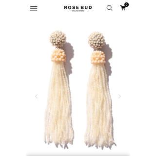ローズバッド(ROSE BUD)のROSE BUD タッセルイヤリング(イヤリング)