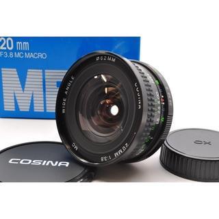 ★超美品★コシナ 20mm F3.8 MC MACRO コンタックス・ヤシカ用(レンズ(単焦点))